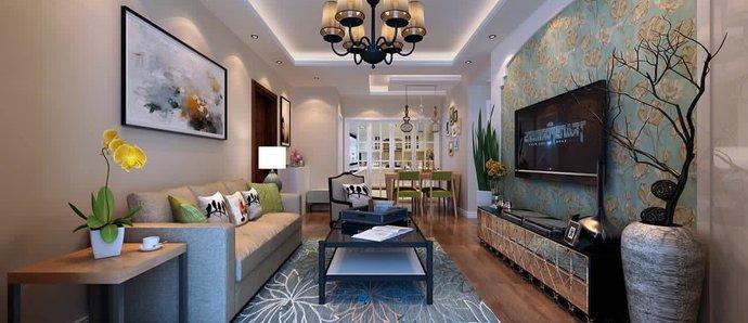 精美优雅的美式二居室